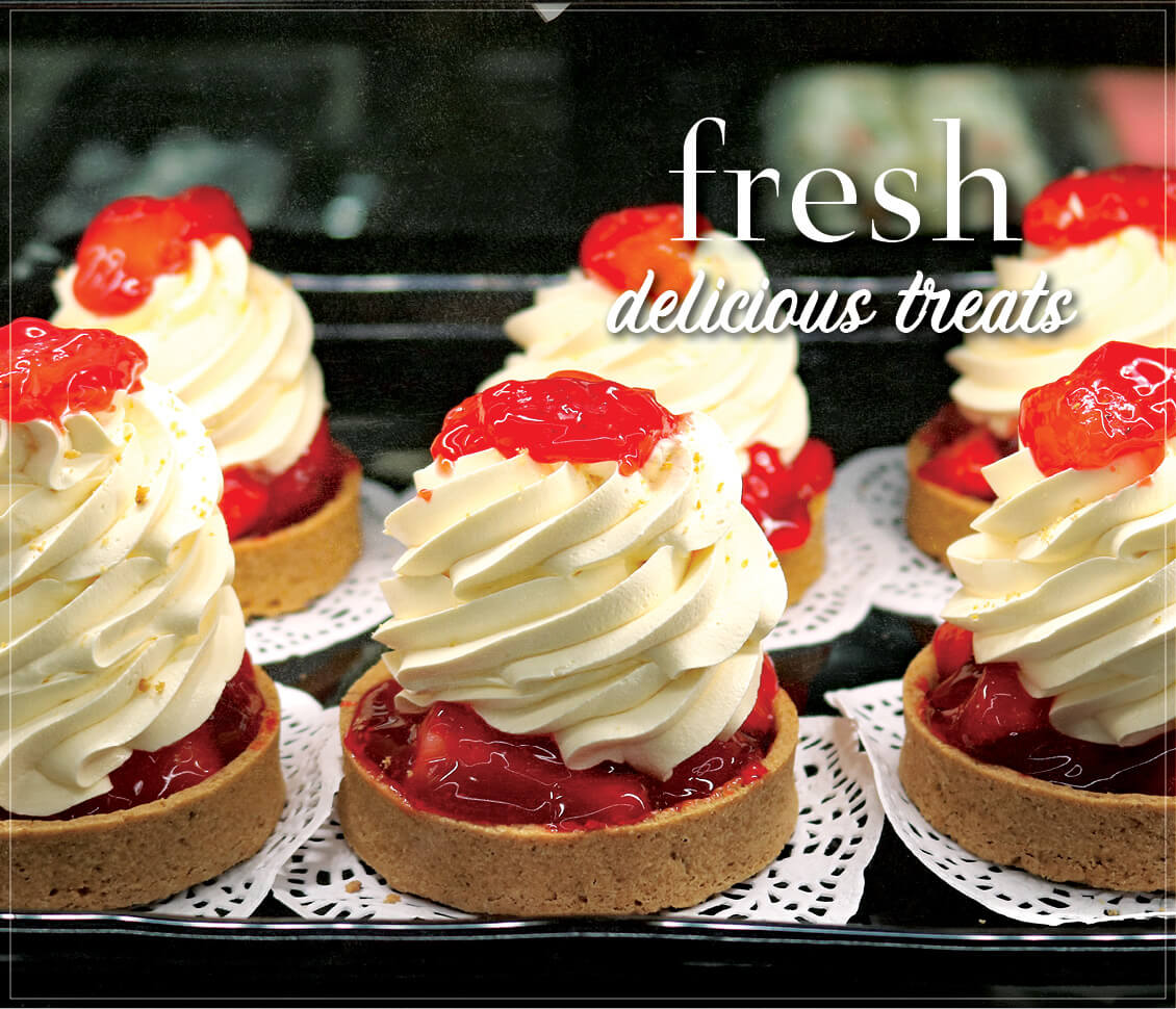 Fresh Delicious Treats from Zuppardo's Bakery